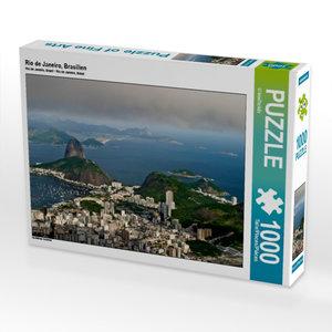 Rio de Janeiro, Brasilien 1000 Teile Puzzle quer