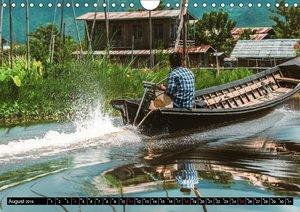 Myanmar - Im Land der Pagoden (Wandkalender 2019 DIN A4 quer)