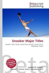 Snooker Major Titles