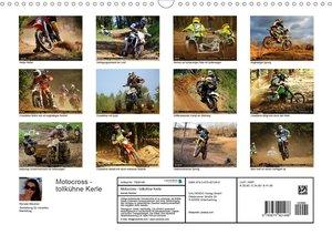 Motocross - tollkühne Kerle (Wandkalender 2020 DIN A3 quer)