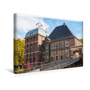 Premium Textil-Leinwand 45 cm x 30 cm quer Schloss Horst im glei