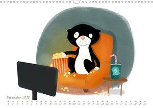 Mein Katzkalender (Wandkalender 2020 DIN A3 quer)