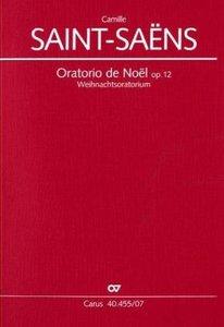 Oratorio de Noel (Weihnachtsoratorium) op.12, Partitur