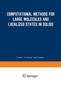 Computational Methods for Large Molecules and Localized States i