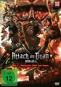 Attack on Titan - Anime Movie Teil 1: Feuerroter Pfeil und Bogen