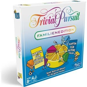 Hasbro E1921100 - Trivial Pursuit, Familienedition, Brettspiel,