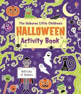Little Children\'s Halloween Activity Book