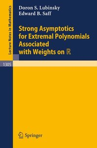 Strong Asymptotics for Extremal Polynomials Associated with Weig