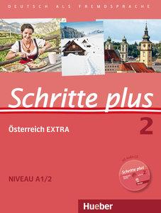 Schritte plus 02. Kursbuch + Arbeitsbuch mit Audio-CD zum Arbeit