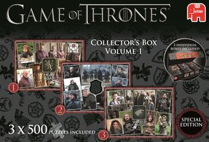 Game of Thrones Sammelbox 1 - 3 x 500 Teile