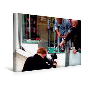 Premium Textil-Leinwand 45 cm x 30 cm quer NDR Fernsehen