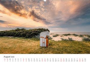 Streifzug entlang der Nordseeküste (Wandkalender 2020 DIN A2 que