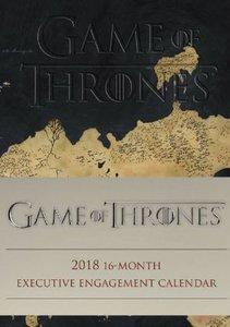 Game of Thrones 2018 - 16-Monats-Wochenkalender