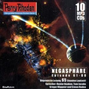 Perry Rhodan - Negasphäre, 10 MP3-CDs