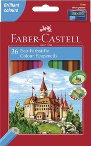 Buntstift Castle mit Spitzer 36er