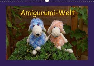 Amigurumi-Welt (Wandkalender 2016 DIN A3 quer)