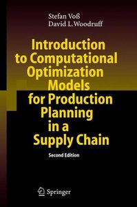 Introduction to Computational Optimization Models for Production