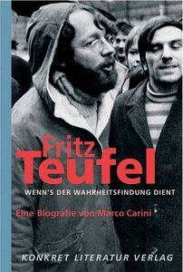 Fritz Teufel - Wenn`s der Wahrheitsfindung dient
