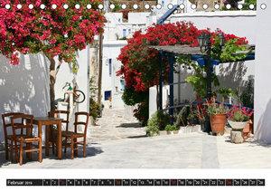 Inselhüpfen Kykladen Santorini - Naxos - Paros - Mykonos (Tischk