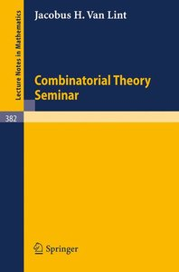 Combinatorial Theory Seminar Eindhoven University of Technology