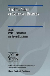 The Fair Value of Insurance Business