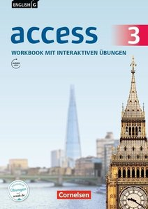 English G Access 03: 7. Schuljahr. Workbook mit CD-ROM und Audio