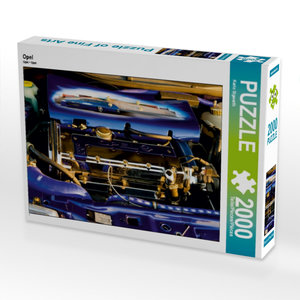 Opel 2000 Teile Puzzle quer