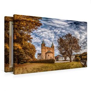 Premium Textil-Leinwand 75 cm x 50 cm quer Stiftskirche St. Cyri