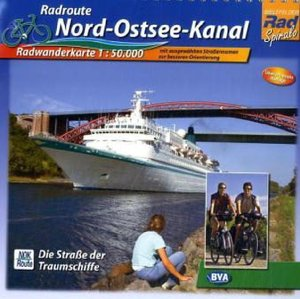 Radweg Nord-Ostsee-Kanal. Radwanderkarte 1 : 50 000