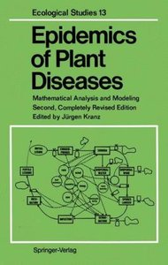 Epidemics of Plant Diseases