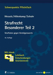 Strafrecht Besonderer Teil/2, mit 1 Buch, mit 1 Online-Zugang