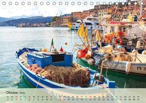Elba - die Insel im Mittelmeer (Tischkalender 2019 DIN A5 quer)