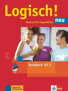 Logisch! neu A2.2. Kursbuch mit Audio-Dateien zum Download