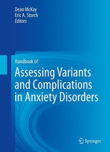 Handbook of Assessing Variants and Complications in Anxiety Diso