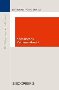 Kommunalrecht im Freistaat Sachsen