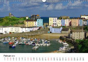 Cornwall und Wales (Wandkalender 2019 DIN A3 quer)
