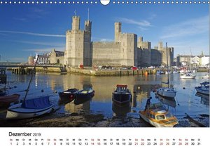 Cornwall und Wales (Wandkalender 2019 DIN A3 quer)