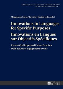 Innovations in Languages for Specific PurposesInnovations en Lan