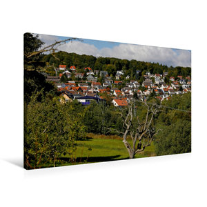 Premium Textil-Leinwand 90 cm x 60 cm quer Ruppertshain