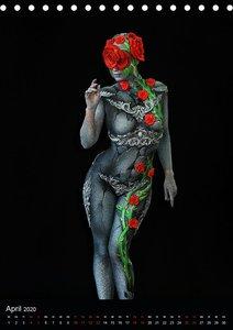 World Bodypainting Festival #21 (Tischkalender 2020 DIN A5 hoch)