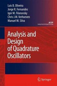 Analysis and Design of Quadrature Oscillators