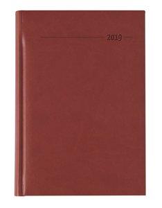 Buchkalender Tucson rot 2019