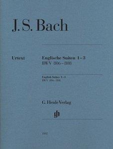 Englische Suiten 1-3, BWV 806-808
