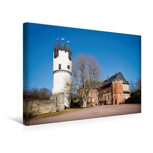 Premium Textil-Leinwand 45 cm x 30 cm quer Schloss Steinheim, Ha