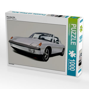 Porsche 914 1000 Teile Puzzle quer