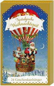 Geschenkanhänger-Blöckchen - Nostalgische Weihnachtszeit