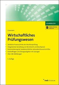 Wirtschaftliches Prüfungswesen, mit 1 Buch, mit 1 Online-Zugang