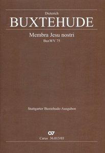 Membra Jesu nostri BuxWV 75 (L), Klavierauszug