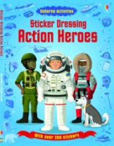 Sticker Dressing: Action Heroes
