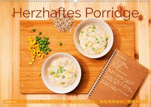 Einfache vegane Rezepte (Wandkalender 2020 DIN A2 quer)